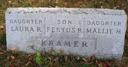 KRAMER, LAURA R. - Franklin County, Ohio   LAURA R. KRAMER - Ohio Gravestone Photos