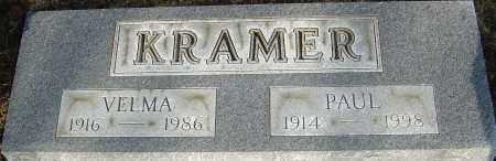 KRAMER, VELMA - Franklin County, Ohio | VELMA KRAMER - Ohio Gravestone Photos