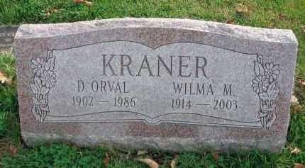 KRANER, WILMA M. - Franklin County, Ohio | WILMA M. KRANER - Ohio Gravestone Photos