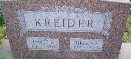 KREIDER, HELEN - Franklin County, Ohio | HELEN KREIDER - Ohio Gravestone Photos