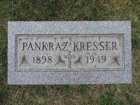 KRESSER, PANKRAZ - Franklin County, Ohio | PANKRAZ KRESSER - Ohio Gravestone Photos