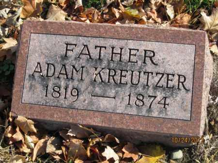 KREUTZER, ADAM M - Franklin County, Ohio | ADAM M KREUTZER - Ohio Gravestone Photos