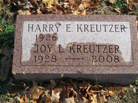 LEFFLER KREUTZER, JOY LOUISE - Franklin County, Ohio | JOY LOUISE LEFFLER KREUTZER - Ohio Gravestone Photos