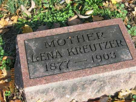 KREUTZER, LENA - Franklin County, Ohio | LENA KREUTZER - Ohio Gravestone Photos