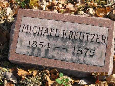 KREUTZER, MICHAEL - Franklin County, Ohio | MICHAEL KREUTZER - Ohio Gravestone Photos