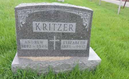 KRITZER, ANDREW - Franklin County, Ohio | ANDREW KRITZER - Ohio Gravestone Photos