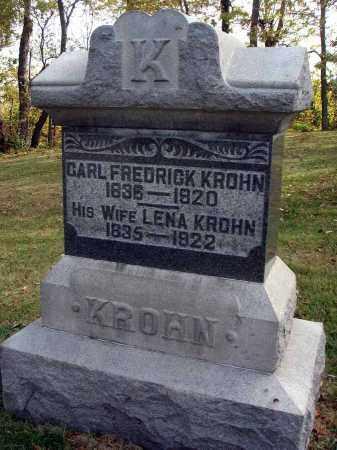 KROHN, LENA - Franklin County, Ohio | LENA KROHN - Ohio Gravestone Photos