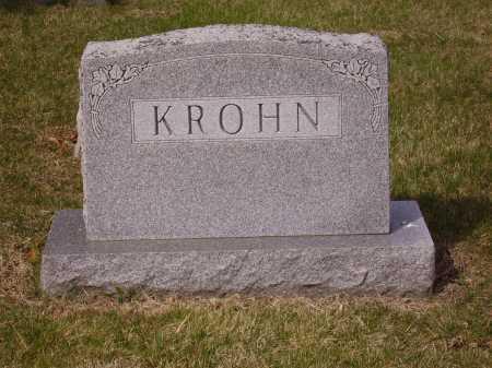 KROHN, FAMILY MONUMENT - Franklin County, Ohio | FAMILY MONUMENT KROHN - Ohio Gravestone Photos