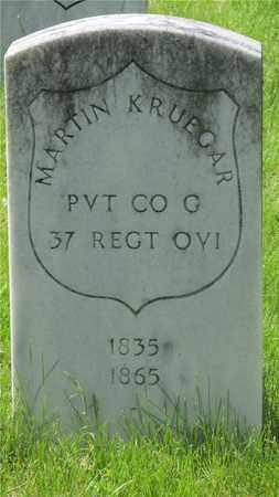 KRUEGAR, MARTIN - Franklin County, Ohio | MARTIN KRUEGAR - Ohio Gravestone Photos