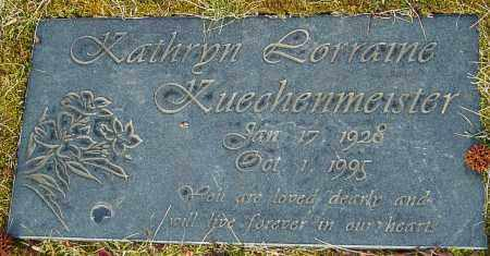 KUECHENMEISTER, KATHRYN LORRAINE - Franklin County, Ohio | KATHRYN LORRAINE KUECHENMEISTER - Ohio Gravestone Photos