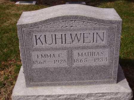 KUHLWEIN, EMMA C. - Franklin County, Ohio | EMMA C. KUHLWEIN - Ohio Gravestone Photos