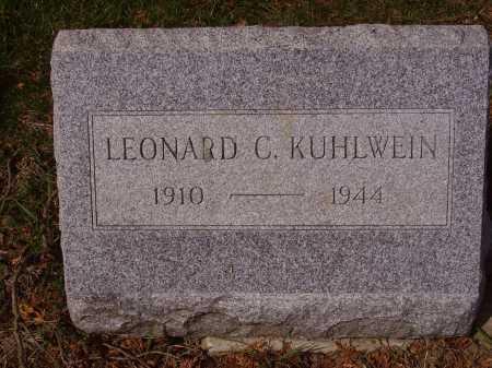 KUHLWEIN, LEONARD - Franklin County, Ohio | LEONARD KUHLWEIN - Ohio Gravestone Photos