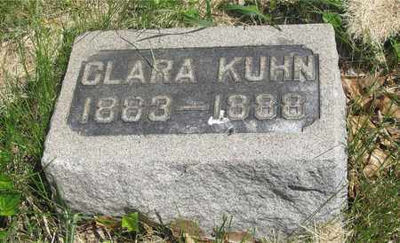 KUHN, CLARA - Franklin County, Ohio | CLARA KUHN - Ohio Gravestone Photos