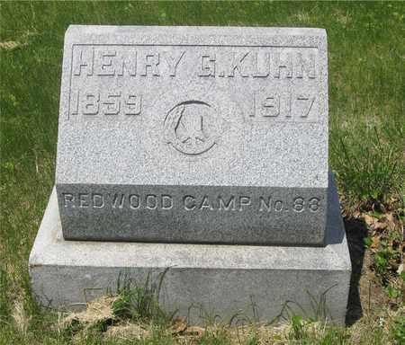 KUHN, HENRY G. - Franklin County, Ohio   HENRY G. KUHN - Ohio Gravestone Photos