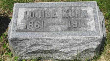 KUHN, LOUISE - Franklin County, Ohio | LOUISE KUHN - Ohio Gravestone Photos