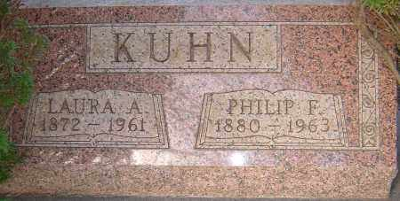 KUHN, LAURA - Franklin County, Ohio | LAURA KUHN - Ohio Gravestone Photos