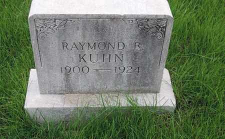 KUHN, RAYMOND B - Franklin County, Ohio   RAYMOND B KUHN - Ohio Gravestone Photos