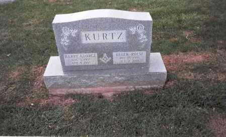 KURTZ, HARRY GEORGE - Franklin County, Ohio   HARRY GEORGE KURTZ - Ohio Gravestone Photos