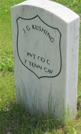 KUSHING, J. G. - Franklin County, Ohio | J. G. KUSHING - Ohio Gravestone Photos