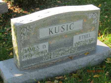 CHAPPELEAR KUSIC, ETHEL - Franklin County, Ohio | ETHEL CHAPPELEAR KUSIC - Ohio Gravestone Photos