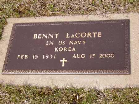 LA CORTE, BENNY - MILITARY - Franklin County, Ohio | BENNY - MILITARY LA CORTE - Ohio Gravestone Photos