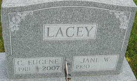 LACEY, C EUGENE - Franklin County, Ohio | C EUGENE LACEY - Ohio Gravestone Photos