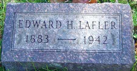 LAFLER, EDWARD H - Franklin County, Ohio | EDWARD H LAFLER - Ohio Gravestone Photos
