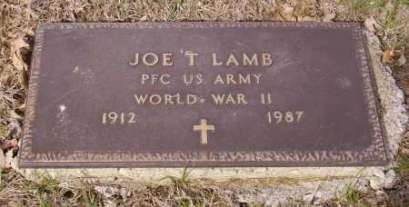 LAMB, JOE T. - MILITARY - Franklin County, Ohio   JOE T. - MILITARY LAMB - Ohio Gravestone Photos