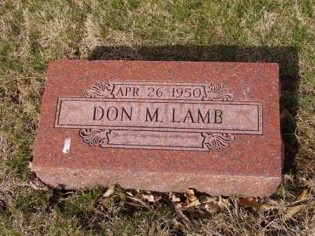 LAMB, DON M. - Franklin County, Ohio   DON M. LAMB - Ohio Gravestone Photos
