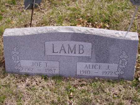 LAMB, ALICE J. - Franklin County, Ohio   ALICE J. LAMB - Ohio Gravestone Photos
