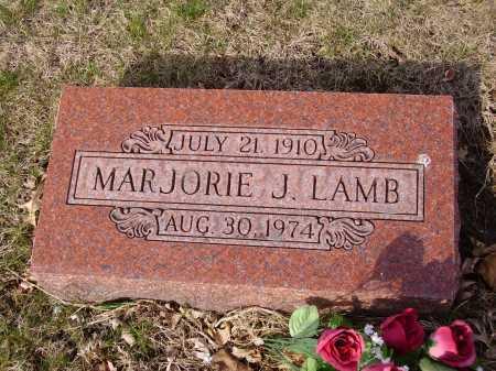 LAMB, MARJORIE J. - Franklin County, Ohio   MARJORIE J. LAMB - Ohio Gravestone Photos
