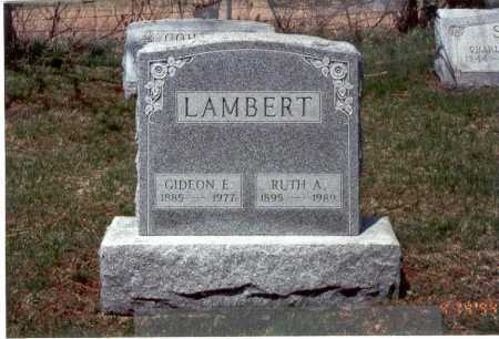 NIEBERLINE LAMBERT, RUTH A. - Franklin County, Ohio | RUTH A. NIEBERLINE LAMBERT - Ohio Gravestone Photos