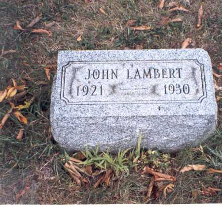 LAMBERT, JOHN - Franklin County, Ohio   JOHN LAMBERT - Ohio Gravestone Photos