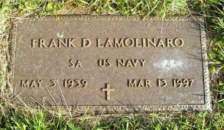 LAMOLINARO, FRANK D. - Franklin County, Ohio | FRANK D. LAMOLINARO - Ohio Gravestone Photos