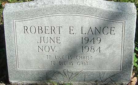 LANCE, ROBERT E - Franklin County, Ohio | ROBERT E LANCE - Ohio Gravestone Photos