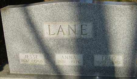 LANE, ANNA - Franklin County, Ohio | ANNA LANE - Ohio Gravestone Photos