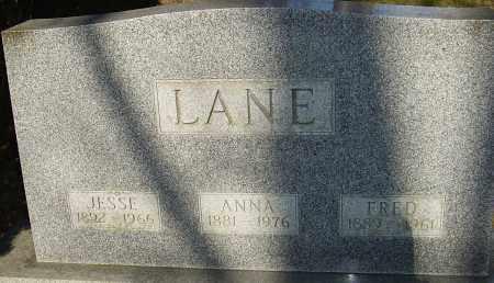 LANE, JESSE - Franklin County, Ohio | JESSE LANE - Ohio Gravestone Photos