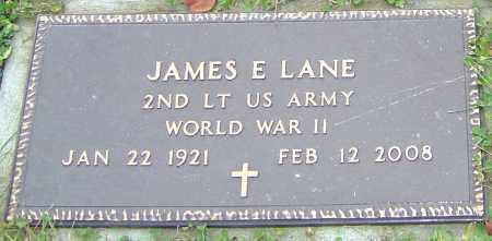 LANE, JAMES E - Franklin County, Ohio   JAMES E LANE - Ohio Gravestone Photos