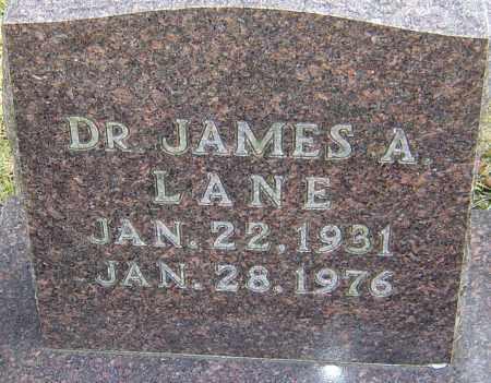 LANE, JAMES A - Franklin County, Ohio | JAMES A LANE - Ohio Gravestone Photos