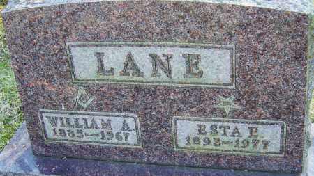 LANE, ESTA E - Franklin County, Ohio   ESTA E LANE - Ohio Gravestone Photos
