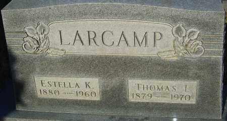 LARCAMP, THOMAS - Franklin County, Ohio | THOMAS LARCAMP - Ohio Gravestone Photos