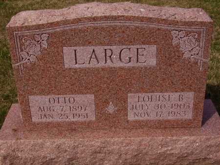 LARGE, OTTO - Franklin County, Ohio | OTTO LARGE - Ohio Gravestone Photos