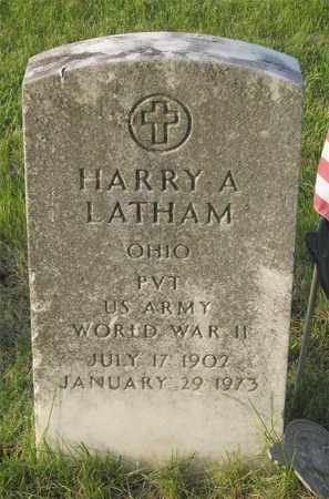 LATHAM, HARRY A. - Franklin County, Ohio | HARRY A. LATHAM - Ohio Gravestone Photos