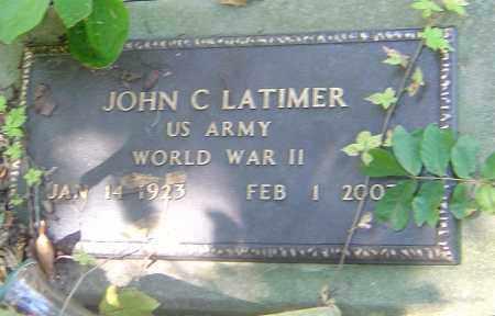 LATIMER, JOHN C - Franklin County, Ohio   JOHN C LATIMER - Ohio Gravestone Photos
