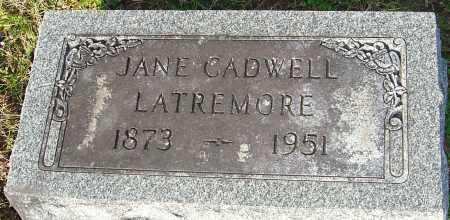 LATREMORE, JANE - Franklin County, Ohio | JANE LATREMORE - Ohio Gravestone Photos