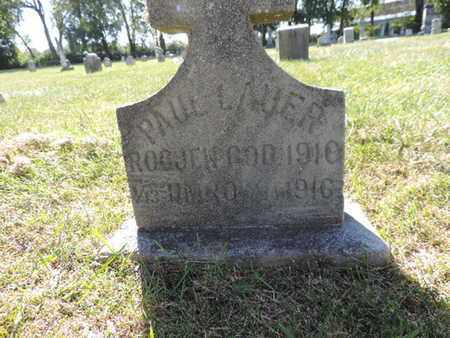 LAUER, PAUL - Franklin County, Ohio | PAUL LAUER - Ohio Gravestone Photos