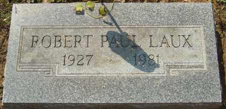 LAUX, ROBERT PAUL - Franklin County, Ohio   ROBERT PAUL LAUX - Ohio Gravestone Photos