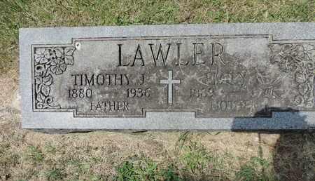 LAWLER, EMILY F - Franklin County, Ohio | EMILY F LAWLER - Ohio Gravestone Photos