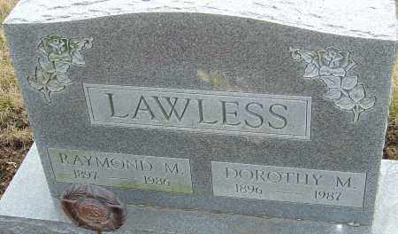LAWLESS, DOROTHY M - Franklin County, Ohio | DOROTHY M LAWLESS - Ohio Gravestone Photos