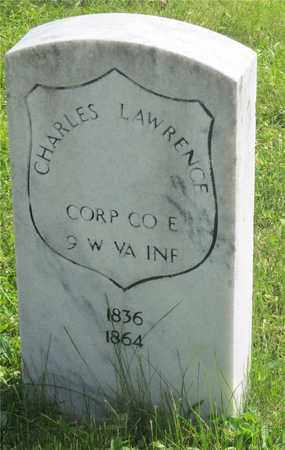 LAWRENCE, CHARLES - Franklin County, Ohio | CHARLES LAWRENCE - Ohio Gravestone Photos